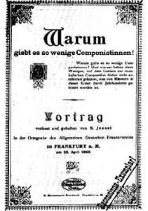 Vortrag vom 25. April 1898