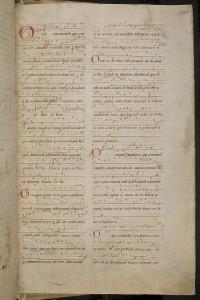 """Ausschnitt aus Hildegard von Bingens """"Riesencodex"""", Ende 12. Jh. Bild: © wikimedia.commons (allgemeinfrei)."""