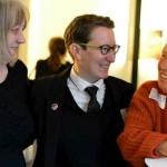 Komponistin Gloria Coates, Referentin Susanne Wosnitzka, Komponistin Barbara Heller ©Kornelija Rade