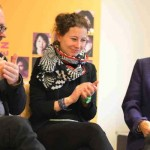 Podiumsmitglieder: Rektor am Mozarteum Siegfried Mauser, Komponistin Manuela Kerer, Musikwissenschaftlerin Eva Rieger ©Kornelija Rade
