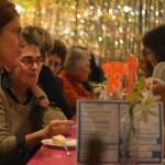Impressionen beim Abendessen der Konferenzteilnehmerinnen ©Kornelija Rade