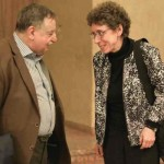 Gratulation für die großartige Aufführung von Dirigierkollegin Mary Ellen Kitchens an Paul Van Nevel ©Kornelija Rade