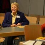 Dirigentin Mareike Hilbrig, Musikwissenschaftlerin Eva Rieger, Komponistin Barbara Heller ©Kornelija Rade